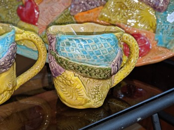 Sweet Tea Pottery Mosiac Mug