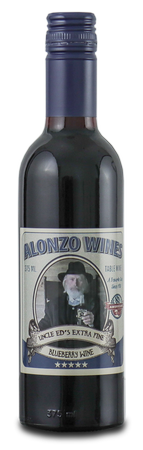 Alonzo Wines Extra Fine Blueberry