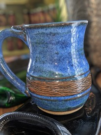 Sweet Tea Pottery Coffee Mug w. Handle